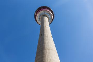 Calgary Tower in canada Alberta : Stock Photo or Stock Video Download rcfotostock photos, images and assets rcfotostock   RC-Photo-Stock.: