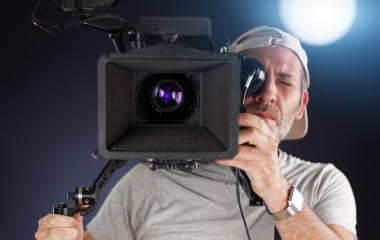 cameraman working with a cinema camera- Stock Photo or Stock Video of rcfotostock | RC-Photo-Stock