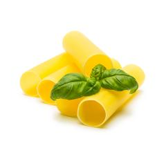 cannelloni noodle tubes with basil- Stock Photo or Stock Video of rcfotostock | RC-Photo-Stock