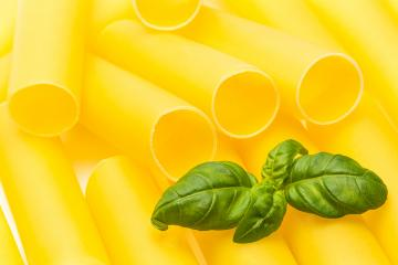 cannelloni noodles with basil leaf- Stock Photo or Stock Video of rcfotostock | RC-Photo-Stock