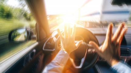 Car accident on a highway - POV - first person view shot from car interior- Stock Photo or Stock Video of rcfotostock | RC-Photo-Stock