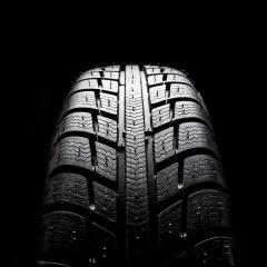 Car tires close-up Winter wheel profile structure on black background- Stock Photo or Stock Video of rcfotostock | RC-Photo-Stock