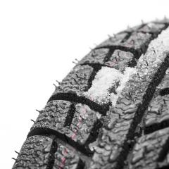 Car tires close-up Winter wheel profile structure with snow on white background- Stock Photo or Stock Video of rcfotostock | RC-Photo-Stock