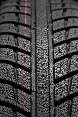 Car tires close-up Winter wheel profile structure with waterdrops on blue black background- Stock Photo or Stock Video of rcfotostock | RC-Photo-Stock