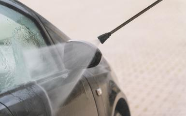 Car washing. Cleaning Car Using High Pressure Water- Stock Photo or Stock Video of rcfotostock | RC-Photo-Stock