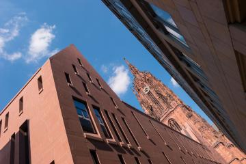 Cathedral in Frankfurt at Summer, germany- Stock Photo or Stock Video of rcfotostock | RC-Photo-Stock