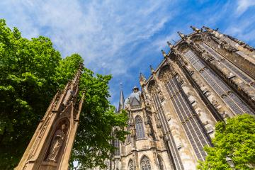 Cathedral of Aachen at summer- Stock Photo or Stock Video of rcfotostock | RC-Photo-Stock