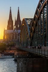Cathedral of cologne at sunset- Stock Photo or Stock Video of rcfotostock | RC-Photo-Stock