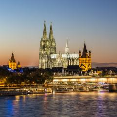 Cathedral of cologne at sunset- Stock Photo or Stock Video of rcfotostock   RC-Photo-Stock