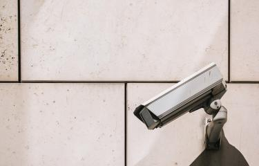 CCTV camera. Security camera on the wall. Private property protection. copy space for individual text : Stock Photo or Stock Video Download rcfotostock photos, images and assets rcfotostock | RC-Photo-Stock.: