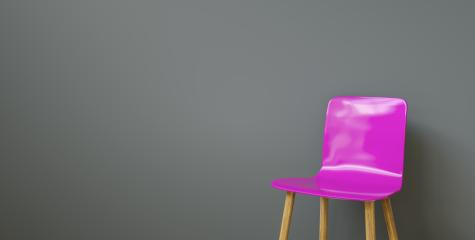 chair in a waiting room of a office, with copy space for individual text - Stock Photo or Stock Video of rcfotostock | RC-Photo-Stock