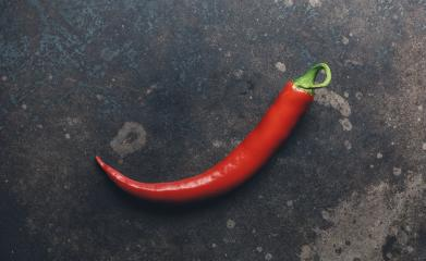 Chili. Red chili pepper on rustic background- Stock Photo or Stock Video of rcfotostock | RC-Photo-Stock