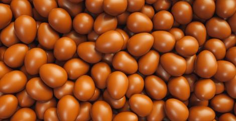 Chocolate easter eggs background - 3D Rendering : Stock Photo or Stock Video Download rcfotostock photos, images and assets rcfotostock | RC-Photo-Stock.: