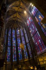 Choir Hall of the Cathedral of Aachen- Stock Photo or Stock Video of rcfotostock | RC-Photo-Stock