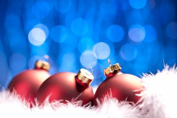 Christmas background. christmas balls with copyspace and snow : Stock Photo or Stock Video Download rcfotostock photos, images and assets rcfotostock | RC-Photo-Stock.: