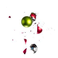 christmas balls collide- Stock Photo or Stock Video of rcfotostock | RC-Photo-Stock