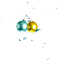 christmas balls collide- Stock Photo or Stock Video of rcfotostock | RC-Photo-Stock