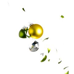 christmas balls collision on white- Stock Photo or Stock Video of rcfotostock | RC-Photo-Stock