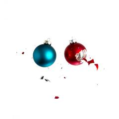 christmas balls crash- Stock Photo or Stock Video of rcfotostock | RC-Photo-Stock
