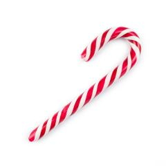 Christmas candy cane isolated on white- Stock Photo or Stock Video of rcfotostock | RC-Photo-Stock