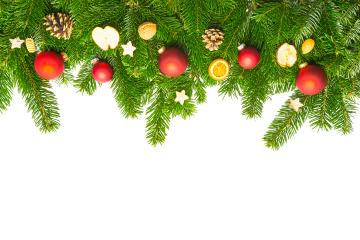 christmas decorations on pine branches- Stock Photo or Stock Video of rcfotostock | RC-Photo-Stock