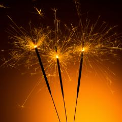 christmas sparklers- Stock Photo or Stock Video of rcfotostock | RC-Photo-Stock