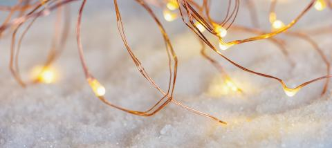 christmas Wire LED Lights- Stock Photo or Stock Video of rcfotostock | RC-Photo-Stock