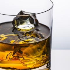 chunks of ice in a whiskey glass- Stock Photo or Stock Video of rcfotostock | RC-Photo-Stock