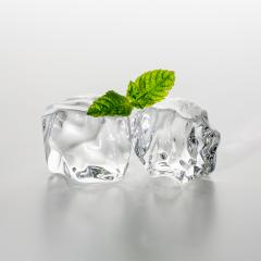 chunks of ice with mint- Stock Photo or Stock Video of rcfotostock | RC-Photo-Stock