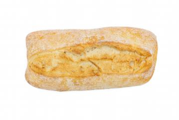 ciabatta isoalted on white background- Stock Photo or Stock Video of rcfotostock | RC-Photo-Stock