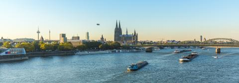 City of cologne at dusk- Stock Photo or Stock Video of rcfotostock   RC-Photo-Stock