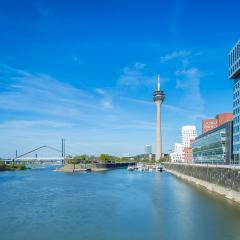 city of Dusseldorf at spring : Stock Photo or Stock Video Download rcfotostock photos, images and assets rcfotostock | RC-Photo-Stock.: