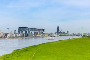 City Skyline of Cologne in germany- Stock Photo or Stock Video of rcfotostock | RC-Photo-Stock