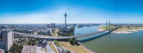 Cityscape of Dusseldorf panorama- Stock Photo or Stock Video of rcfotostock   RC-Photo-Stock