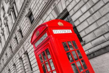 classic red phone booth in London, England, the UK- Stock Photo or Stock Video of rcfotostock | RC-Photo-Stock