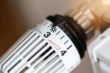 close up of radiator thermostat- Stock Photo or Stock Video of rcfotostock | RC-Photo-Stock