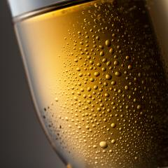Close-up from a champagne glass with dew : Stock Photo or Stock Video Download rcfotostock photos, images and assets rcfotostock | RC-Photo-Stock.: