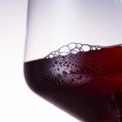 Close-up from a cold red wine glass- Stock Photo or Stock Video of rcfotostock | RC-Photo-Stock