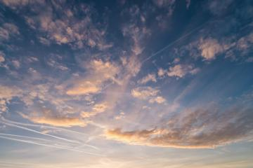 cloudy sky at sunset- Stock Photo or Stock Video of rcfotostock | RC-Photo-Stock