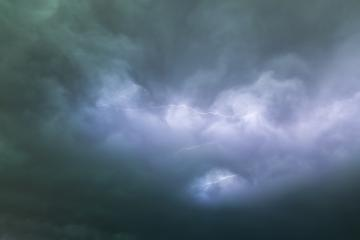 cloudy sky with thunderbolts- Stock Photo or Stock Video of rcfotostock | RC-Photo-Stock