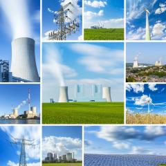 coal power plant energy alternative energy sources windpower nuclear power collage set : Stock Photo or Stock Video Download rcfotostock photos, images and assets rcfotostock | RC-Photo-Stock.: