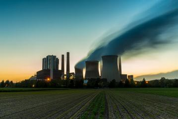 Coal-fired power plant at sunset : Stock Photo or Stock Video Download rcfotostock photos, images and assets rcfotostock | RC-Photo-Stock.: