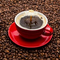 Coffee and Milk drop collision- Stock Photo or Stock Video of rcfotostock | RC-Photo-Stock