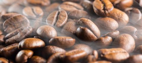 coffee beans fresh roast with steam : Stock Photo or Stock Video Download rcfotostock photos, images and assets rcfotostock   RC-Photo-Stock.: