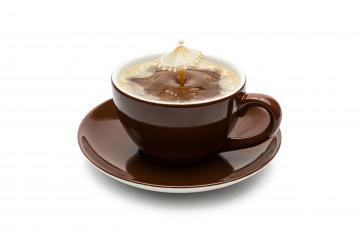 Coffee cup and Milk drop- Stock Photo or Stock Video of rcfotostock | RC-Photo-Stock