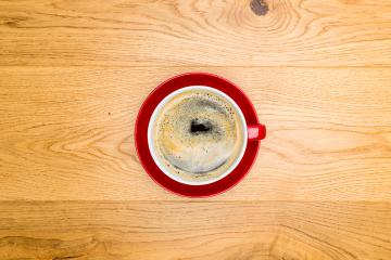 coffee cup on wooden table- Stock Photo or Stock Video of rcfotostock   RC-Photo-Stock
