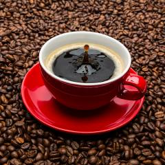 coffee cup with drop- Stock Photo or Stock Video of rcfotostock | RC-Photo-Stock
