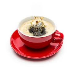 coffee drop splash on a cup- Stock Photo or Stock Video of rcfotostock | RC-Photo-Stock