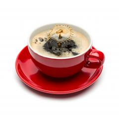 coffee drop splash on white- Stock Photo or Stock Video of rcfotostock | RC-Photo-Stock