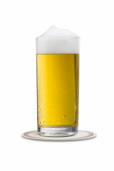 cold beer in a glass with dew drops on a beermat- Stock Photo or Stock Video of rcfotostock | RC-Photo-Stock